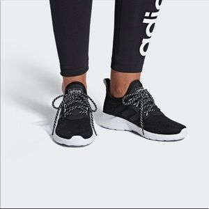Adidas black lite racer RBN sneakers tennis shoes
